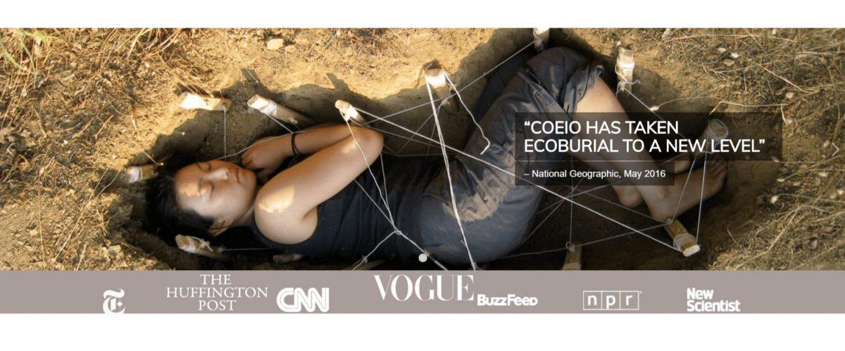 Coeio ウェブサイトトップページ