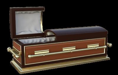 埋葬に使われる棺